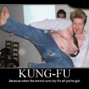 Kung Fu meistras .. :)